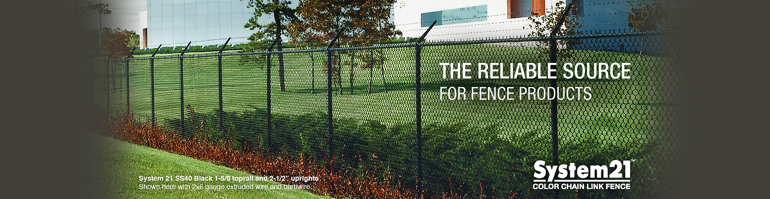 System 21 Chain Link Fence