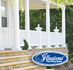 Illusions Vinyl Railing
